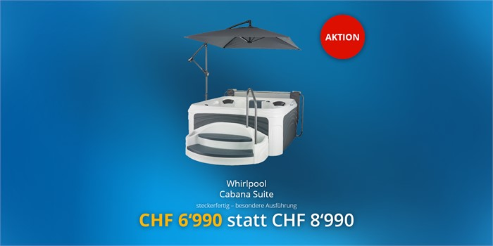 Whirlpool Cabana Suite - jetzt in Aktion